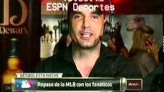 ESPN DEPORTE entrevista a Robert Almonte