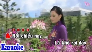 Hoa Tím Người Xưa (Karaoke Beat) - Tone Nữ | Đông Đào Karaoke