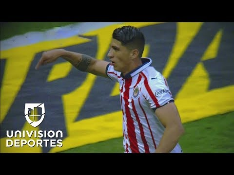 GOLAZO ALAN PULIDO - América 0-1 Chivas - CLÁSICO NACIONAL