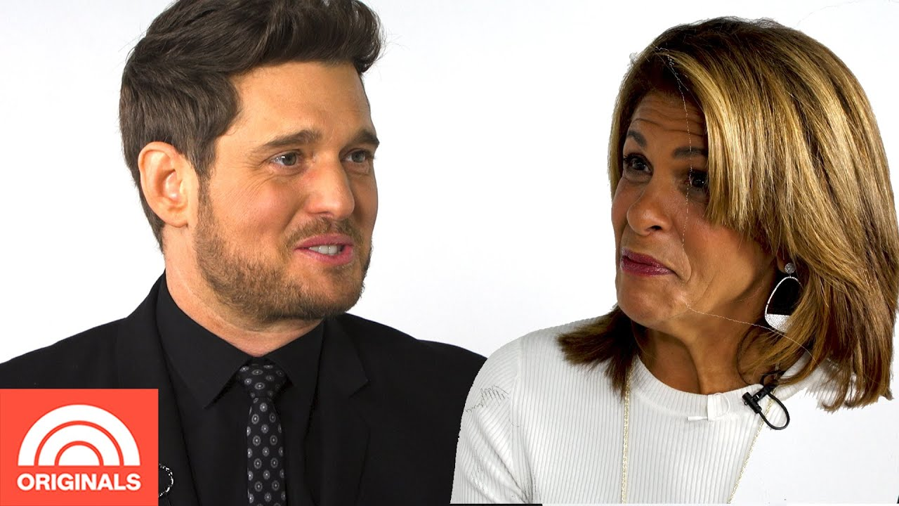 Michael Buble's Favorite Quote Is From Maya Angelou | Quoted By With Hoda | TODAY Originals