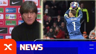 Jogi Löw über Manuel Neuer, Marco Reus und die Grindel-Kritik | Niederlande - Deutschland 2:3