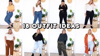 18 Fall Outfit Ideas | Plus Size Lookbook