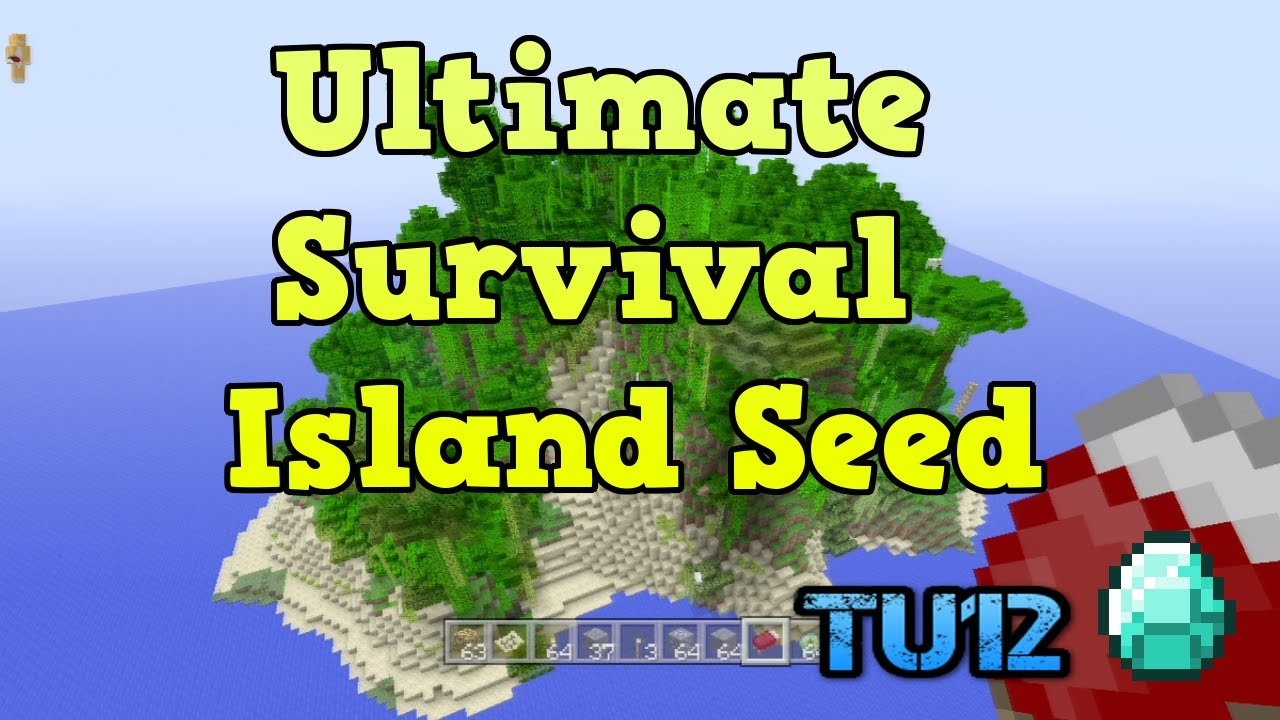 Minecraft xbox 360 edition: survival island seed youtube.