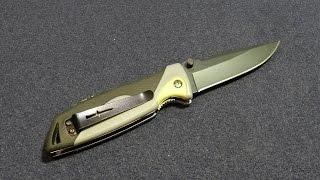 Складной нож выживания Les Stroud Camillus Folding Knife - Обзор