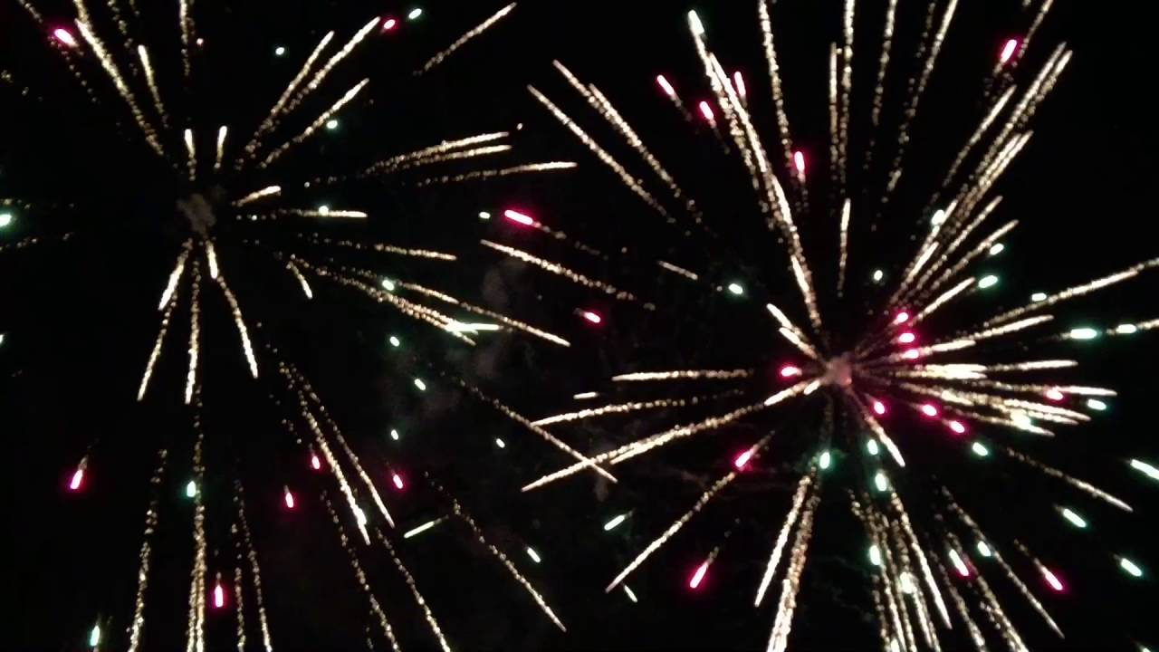 The Greatest Backyard Fireworks Display EVER !!! Epic Show