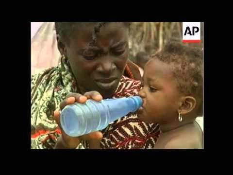 DR Congo - Refugees flood to Kinshasa
