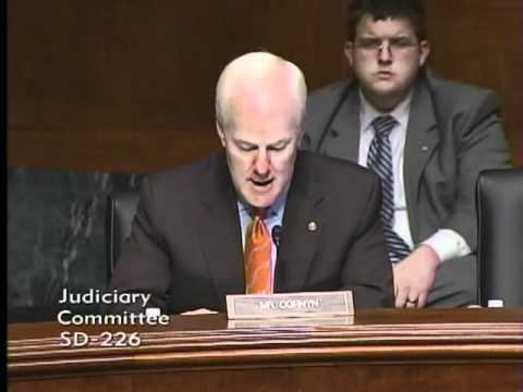 Sen. Cornyn Introduces Judge Diana Saldana in Senate Judiciary Committee 9-29