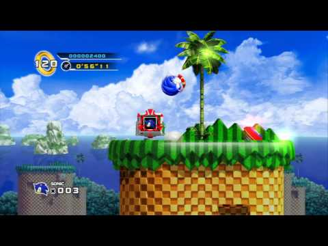 Sonic The Hedgehog 4 - Splash Hill (Act 1) PS3 [HD 720p]