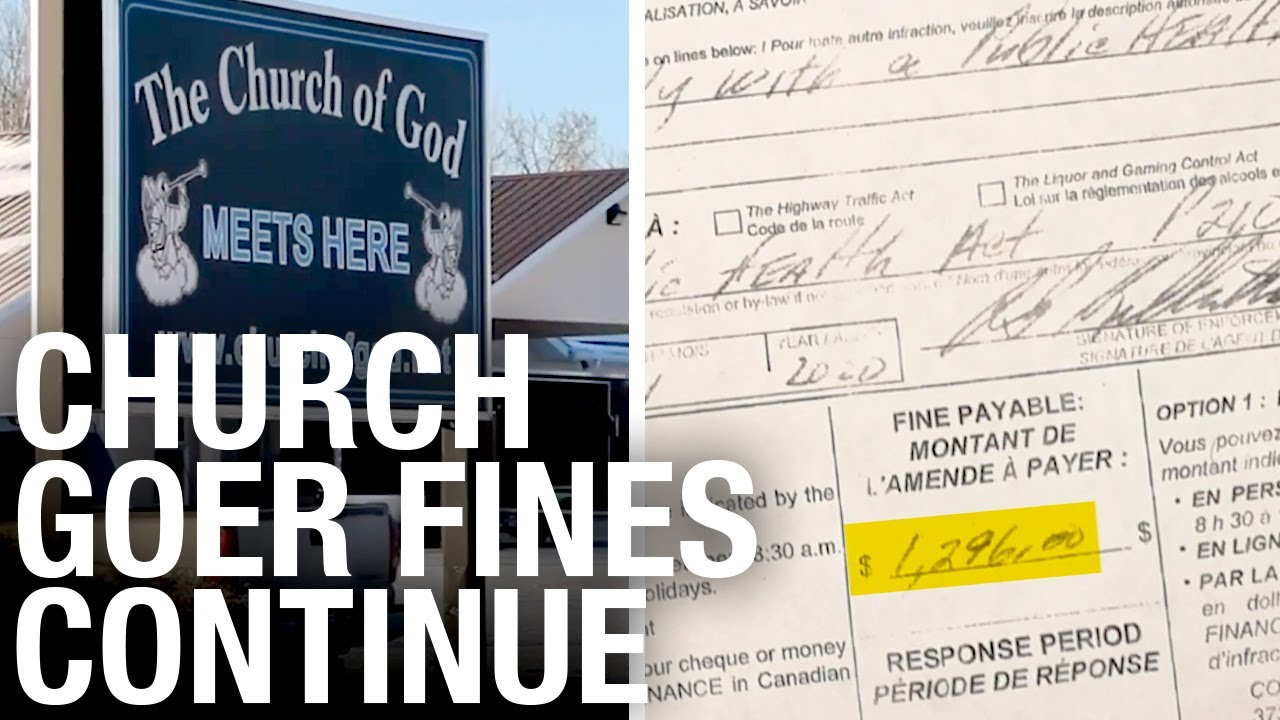 """""""Big Goons"""" hand COVID ticket to retired chiropractor in Steinbach, Manitoba"""
