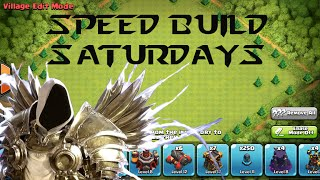 """Clash of Clans   Speed Build Saturdays - My """"Perfect Base"""""""
