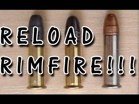 How to reload.22lr and re-prime rimfire bullets! step by step guide DIY