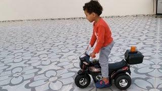 🔥رجعنا السعوديه وسامر يسوق الدباب وهو واقف🔥