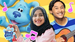 Josh & Blue Sing 'Everyone Can Play'! | Blue's Clues & You!