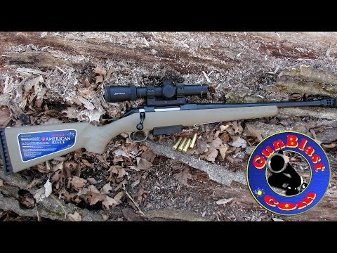 Shooting the Ruger American Ranch Rifle in 450 Bushmaster - Gunblast.com