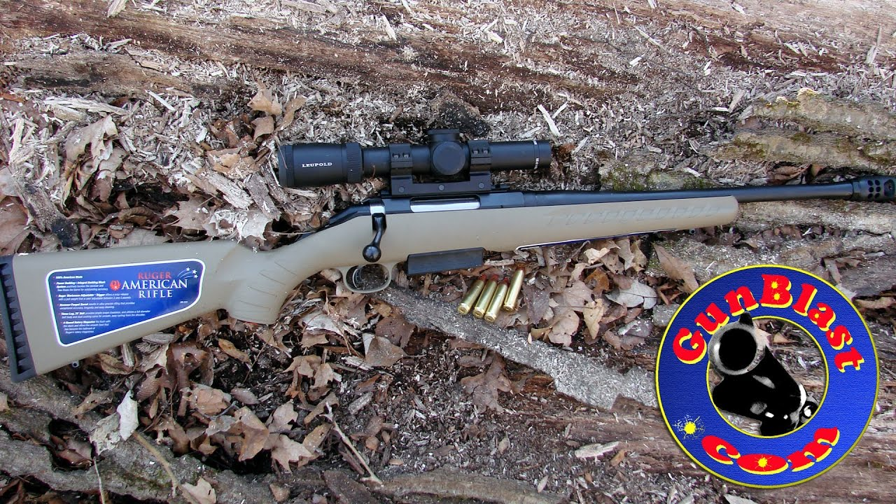 Shooting the Ruger American Ranch Rifle in 450 Bushmaster - Gunblast com