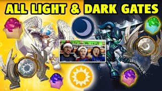 Video ALL LIGHT & DARK ELEMENT GATES w/ Knight Mare & Knight Light (Skylanders Trap Team) download MP3, 3GP, MP4, WEBM, AVI, FLV November 2017