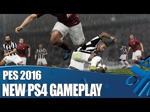PES 2016 New PS4 Gameplay