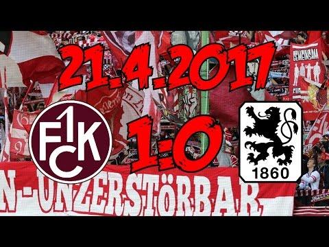 1. FC Kaiserslautern 1:0 TSV 1860 München - 21.4.2017 - Ein SEHR wichtiger Sieg!