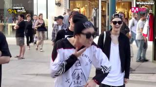 [THAISUB] [BTS American Hustle Life] Unpublished Video - J-Hope VS Street Dancer (No Cut)
