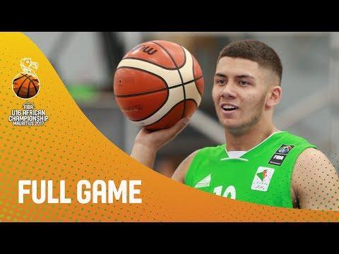 Rwanda v Algeria - Full Game - FIBA U16 African Championship 2017