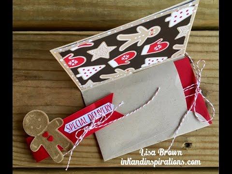 Christmas Gift Card Holder Ideas.Make An Easy Christmas Gift Card Holder From An Envelope