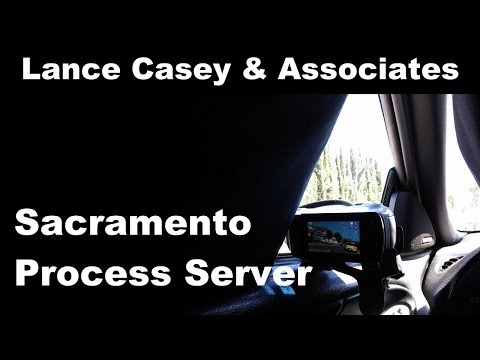 Process Server Sacramento CA 95673 | Lance Casey & Associates