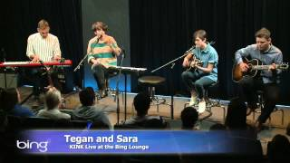 Tegan And Sara - Not Tonight (Bing Lounge)