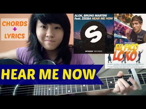 Alok & Bruno Martini feat Zeeba - HEAR ME NOW acoustic cover KYN +  + Chords