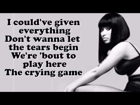Nicki Minaj - The Crying Game ft. Jessie Ware LYRICS