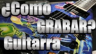 Como-Grabar-La-Guitarra-Electrica-En-La-Pc-TUTORIAL-SENCILLO