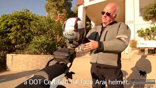 Motorcycle Accident Attorney Practices What He Preaches!