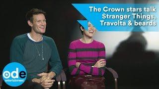 Gambar cover The Crown stars talk Stranger Things, Travolta & beards