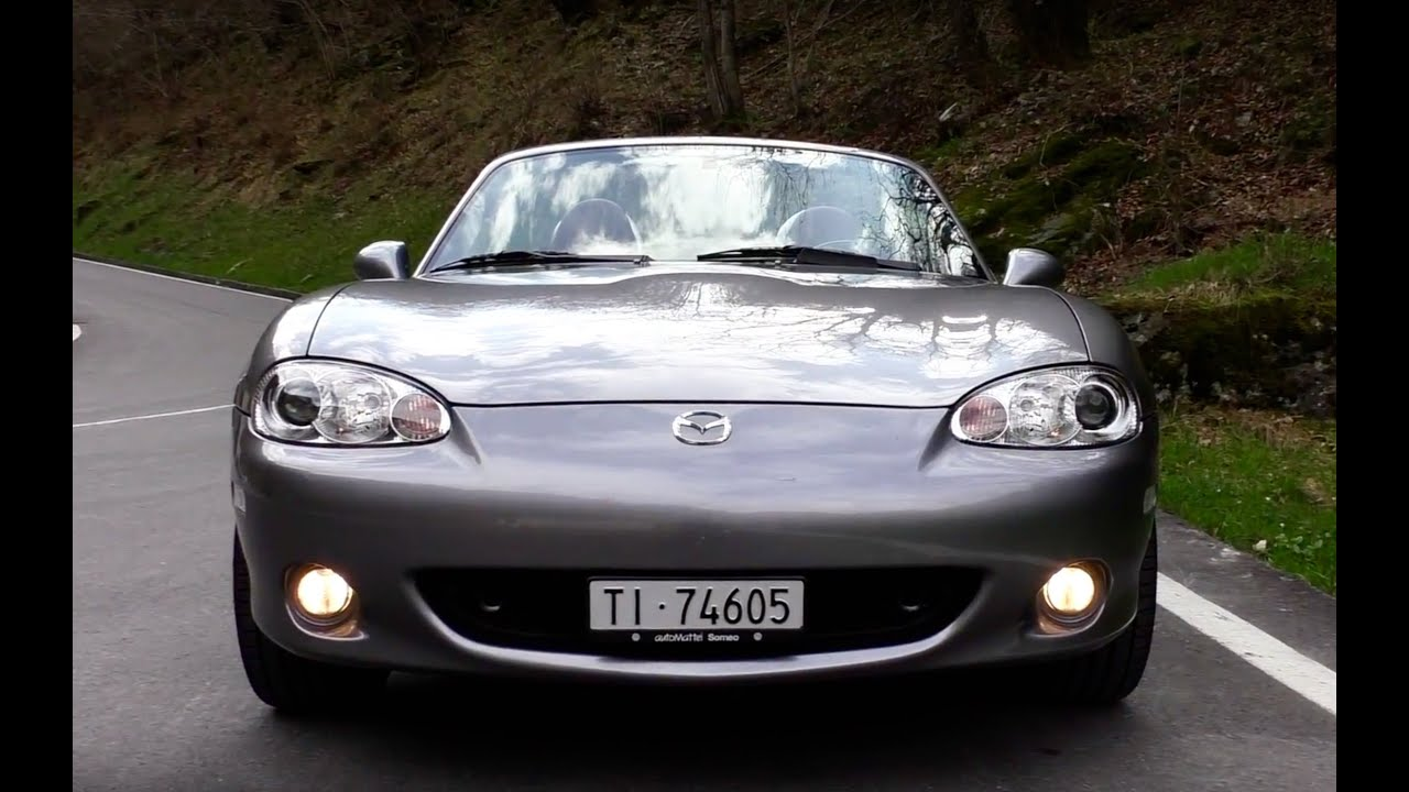 mazda mx 5 nb 1 8 2002 driving sound and acceleration youtube. Black Bedroom Furniture Sets. Home Design Ideas