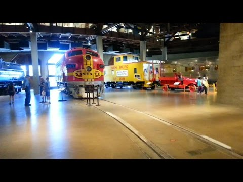Amazing Trains, California State Railroad Museum Sacramento.
