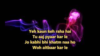 Saara zamaana Yaarana Full Karaoke Scrolling Lyrics