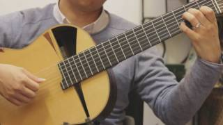Classical Guitar Piece; Kiss The Rain (by Yiruma)