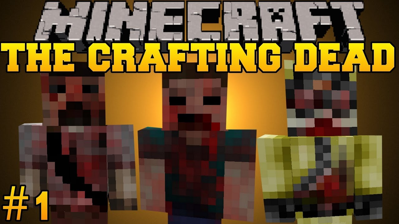 Мод crafting dead minecraft 1 6 4