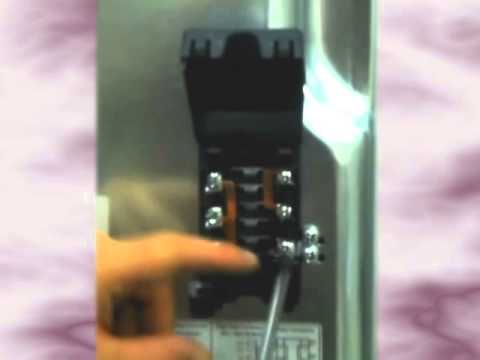 Electrolux Wall Oven Wiring Diagram Cooker Wiring Video Youtube