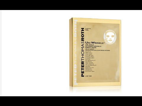 peter thomas roth - un-wrinkle 24k gold intense wrinkle sheet mask Madina Natural 100% Pure Cold Pressed Argan Oil [2 oz.]
