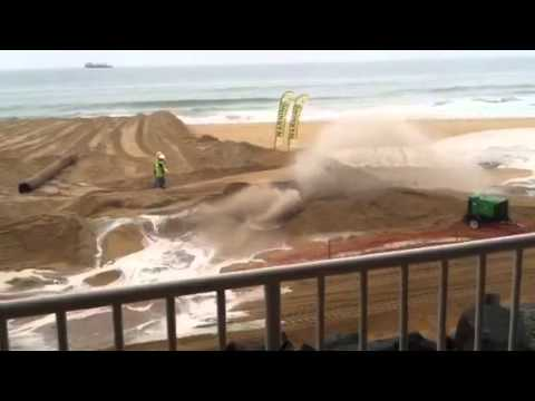 Sand Reclamation Pipeline Burst Amazing!