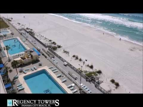 Panama City Beach Condos -- Regency Towers Vacation Unit 1205 Panama City Beach Florida