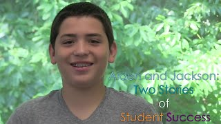 Aodan and Jackson: Two Stories of Student Success!