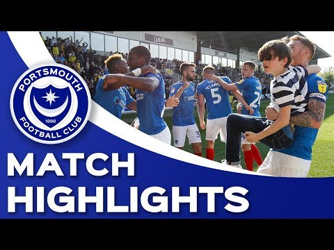 Highlights: Burton Albion 1-2 Portsmouth