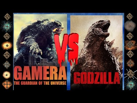 Nightmare Gamera (Daiei Film) vs Godzilla (Toho) - Ultimate Mugen Fight 2016