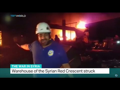 The War In Syria: UN aid convoy bombed in air strike near Aleppo