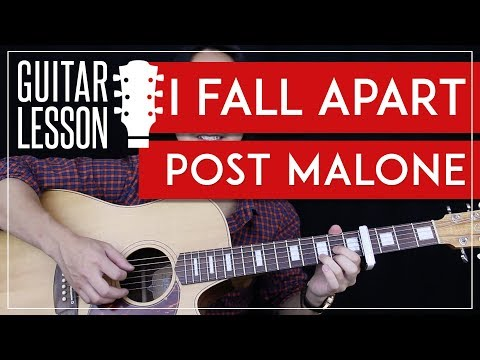 I Fall Apart Guitar Tutorial - Post Malone Guitar Lesson 🎸 |Easy Chords + Guitar Cover|