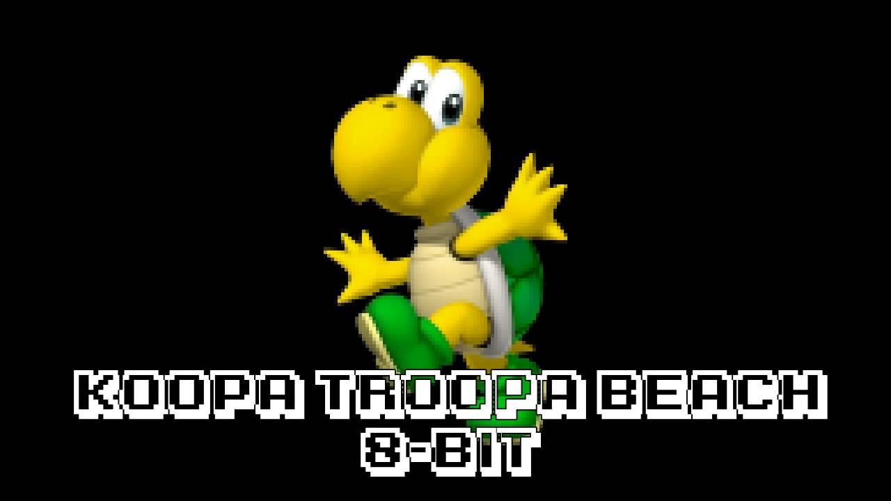 8 bit koopa troopa