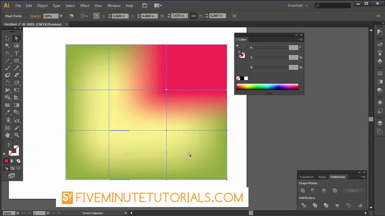 Adobe illustrator cs6 mesh tool tutorial youtube adobe illustrator cs6 mesh tool tutorial baditri Gallery