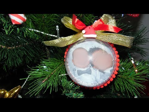 Pallina Di Natale Di Plexiglass Con Foto - Tutorial