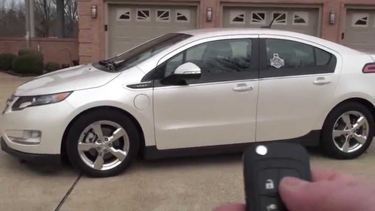 Hd Video 2017 Chevrolet Volt Navigation White Electric For See Www Sunsetmotors Com